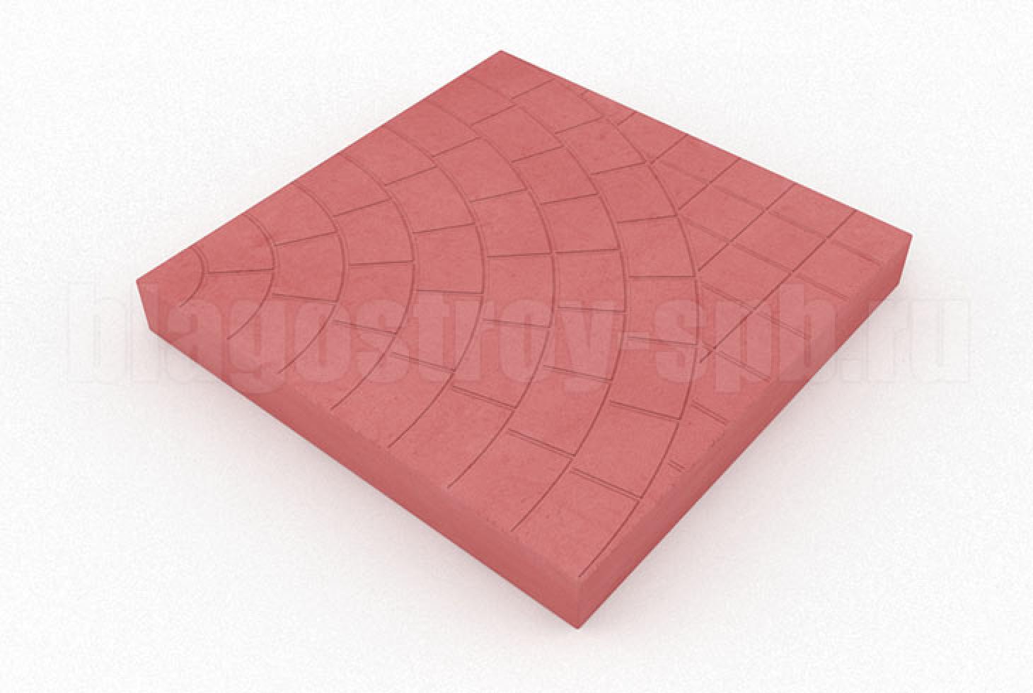плитка паутина-40 красная