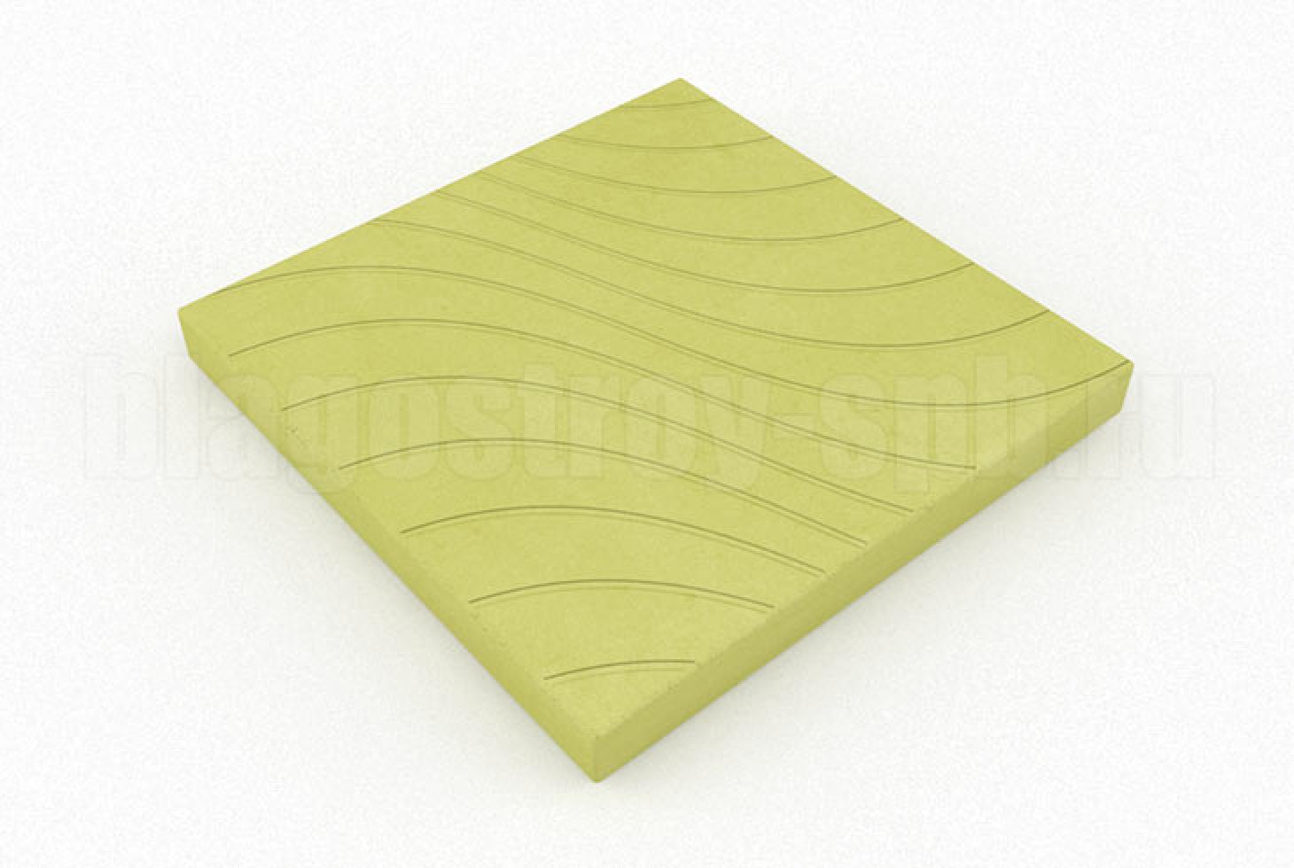 плитка волны желтая
