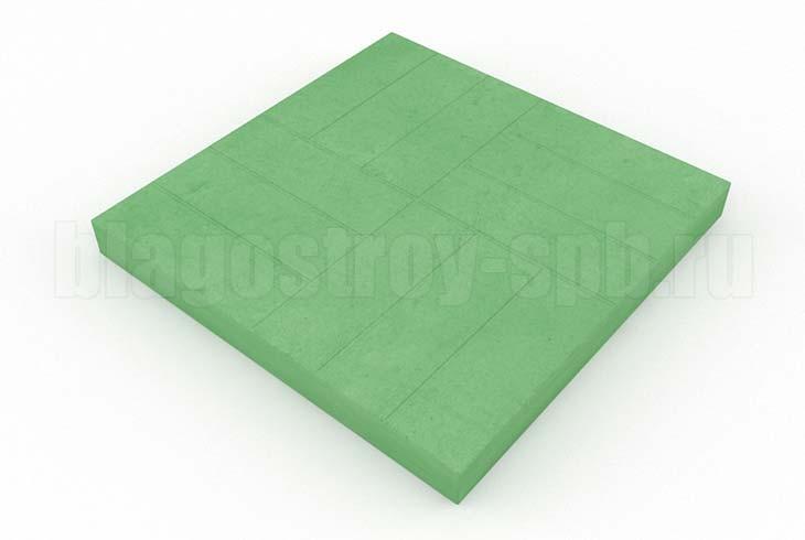 12-кирпичей зеленая