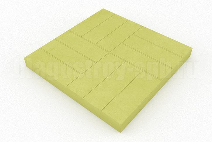 12-кирпичей желтая