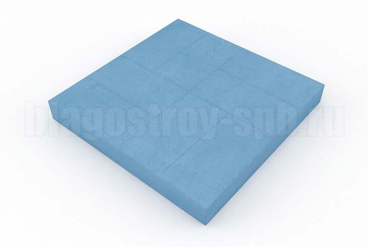 8-кирпичей синяя