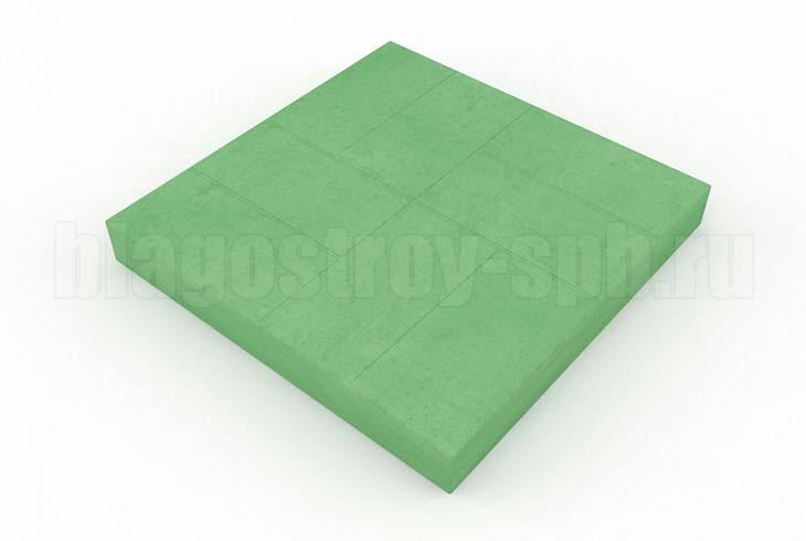 8-кирпичей зеленая