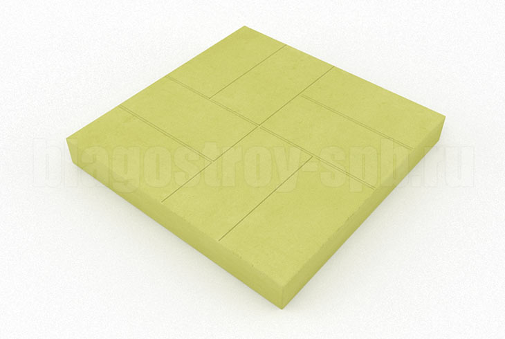 8-кирпичей желтая