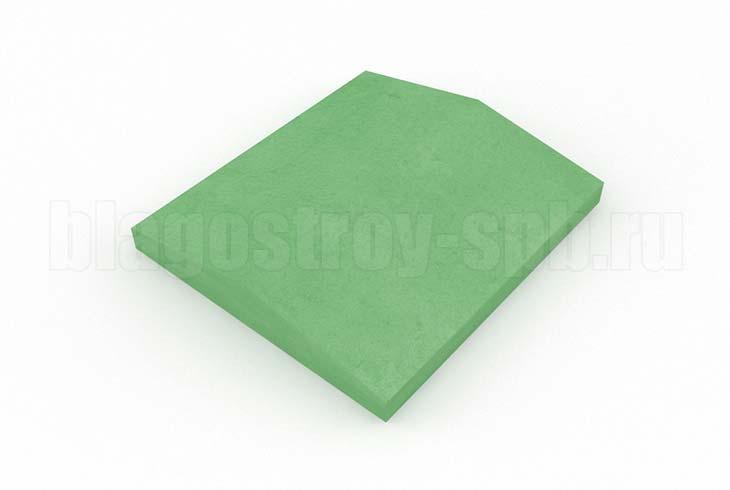 крышка на забор кр 350x390 зеленая