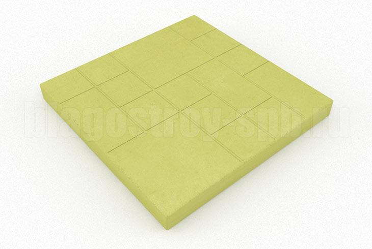 шоколадка желтая