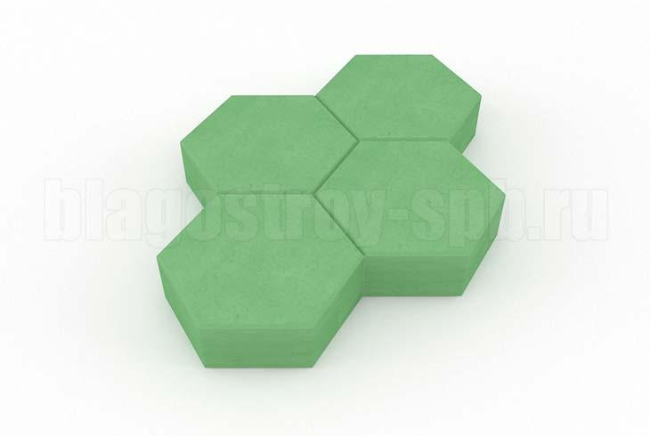 соты зеленая